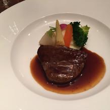 牛肉とても美味しかったです