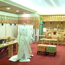 神前式の会場