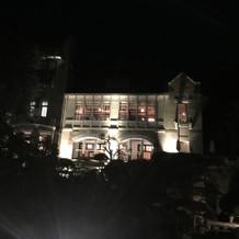 夜も雰囲気があり素敵でした