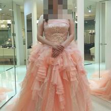 迷いに迷ったカラードレス