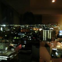 プレゼントの宿泊部屋から見た夜景!