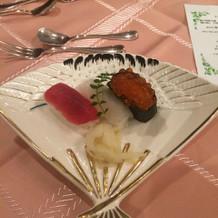 お寿司オシャレで美味しかったです!