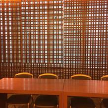 27階披露宴会場エクセレンスの前室
