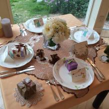 テーブルセット例1