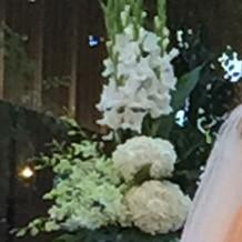 祭壇上のお花