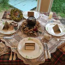 テーブルセット例2