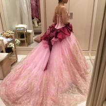 試着ドレス
