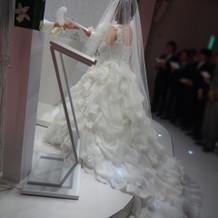 ボリュームあってとても可愛いドレスでした