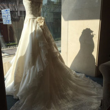 このドレスだと40万以上だとそうです