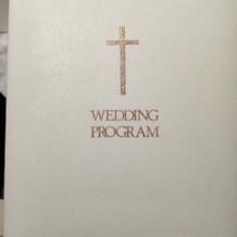 挙式プログラム
