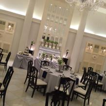 ビクトリアハウスの披露宴会場