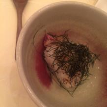 締めの鯛茶漬けは絶品