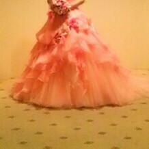 ウエディングドレスの試着と撮影