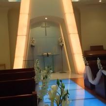 光の演出により室内の雰囲気が変わります