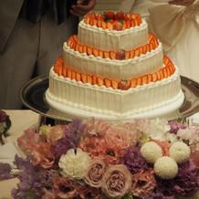 お気に入りのケーキ