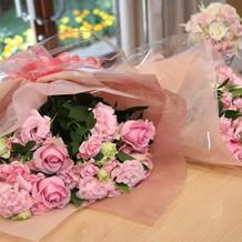 花束贈呈用