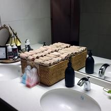 トイレの手洗い回り