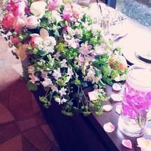 花がとても綺麗