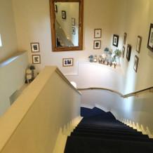二階から下