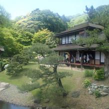 三溪園内庭