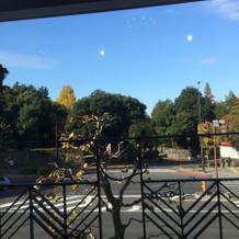 窓の外の風景