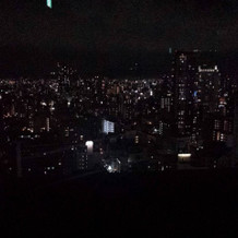 チャペルから見える夜景