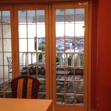 新郎新婦の控え室から富士山も見えるとの事