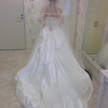 一目惚れで選んだドレス