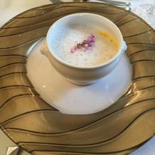 このスープが一番気にいりました。