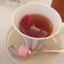 バラのお茶