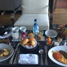 朝食もおいしく美しい