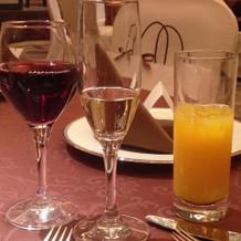 赤ワイン、スパークリング、オレンジ