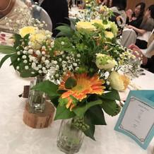 花瓶3つに分けました。かわいい!