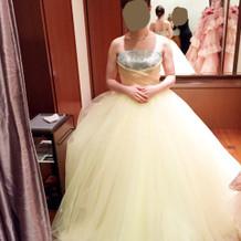 他にも色んなドレスがありました