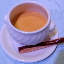 季節野菜のスープ