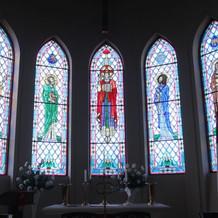 教会のステンドガラス