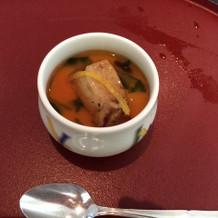 フォアグラの茶碗蒸し