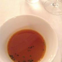 甲殻類のスープ
