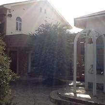 カリヨンと中庭