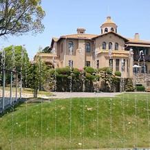 チャペルから見たジェームス邸
