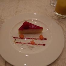 デザート2。デザートが2つありました。