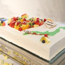 ケーキ、デザイン相談できます