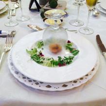 試食会用の海老のスモーク