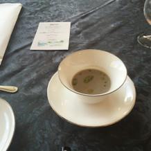 スープとても美味しかったです