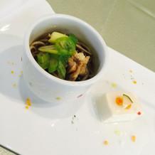 お蕎麦と手作り豆腐です!