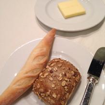 パンとバター。