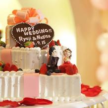 オリジナルの世界に一つのケーキ
