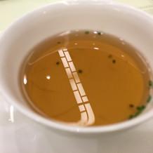 コンソメの茶碗蒸し仕立て