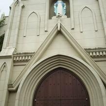 ヨーロッパを思わせる教会