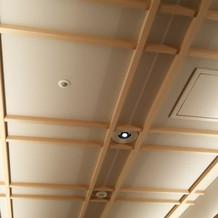 祭壇の天井